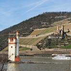 Rheinfahrt. Mouse Tower.