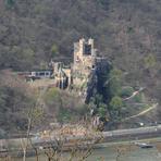 Rheinfahrt. Burg Rheinstein.