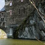 Rheinfahrt. Stahleck Castle.