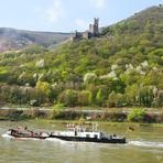 Rheinfahrt. Burg Sooneck.