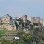Rheinfahrt. Rheinfels Castle.