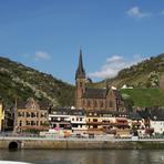 Rheinfahrt. Lorchhausen.