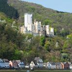 Rheinfahrt. Stolzenfels Castle.
