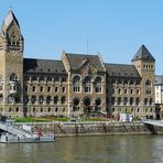 Rheinfahrt. Koblenz.