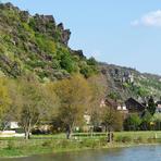 Rheinfahrt. Sankt Goarshausen.