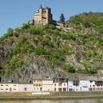 Rheinfahrt. Burg Katz.