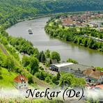 Neckar. Haßmersheim. Deutschland. /De/. Germany.